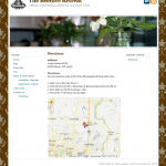 Beehive Retreat - Directions Page