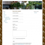 Beehive Retreat - Reservations Page