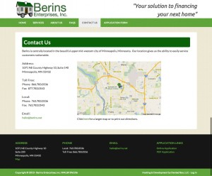 Project Launch – Berins Enterprises